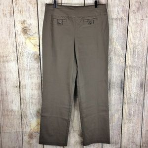 Style & Co NWOT Mocha Stretch Women's Slacks Sz L